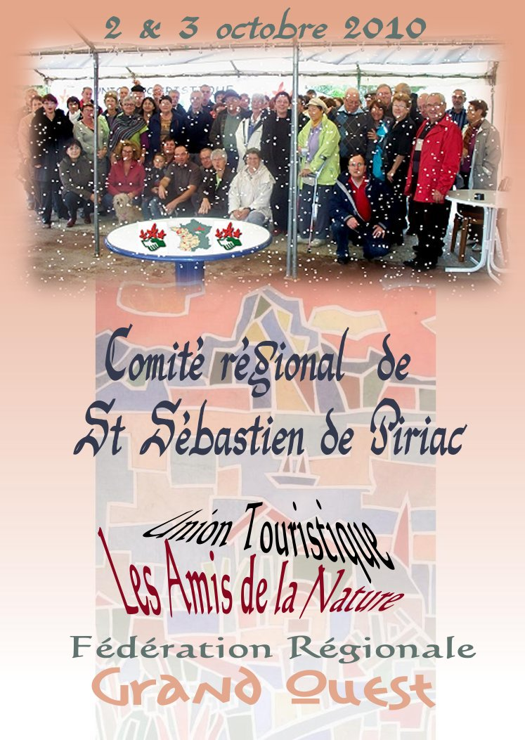 Comité régional de Saint Sébastien de Piriac.
