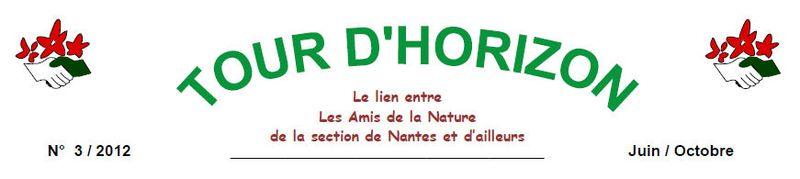 U.T.A.N. Tour d' Horizon n° 3 Section de Nantes
