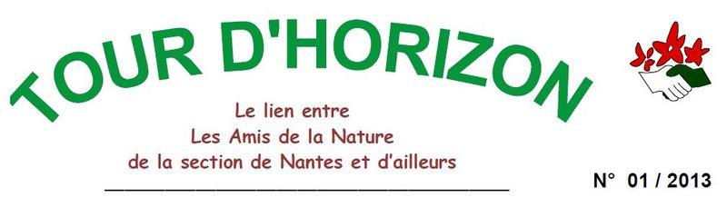 2013 Tour d'horizon N°1 Nantes