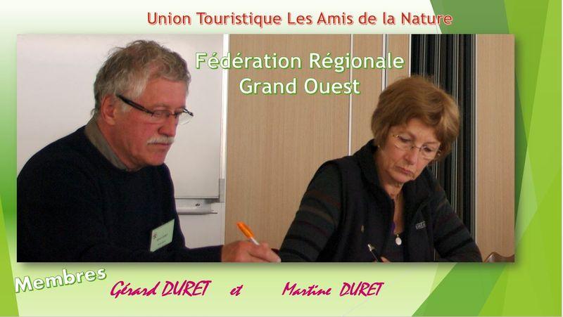 UTAN. Gérard et Martine Duret