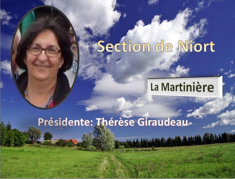 Présidente de Niort UTAN