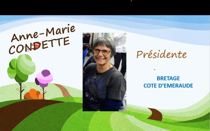 Anne-Marie CONDETTE